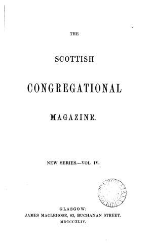 The Scottish Congregational Magazine