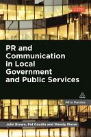 PR and Communication in Local Government and Public Services PDF