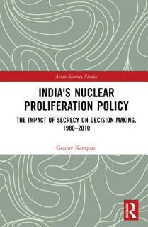 India s Nuclear Proliferation Policy Book