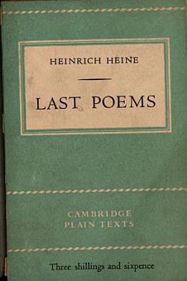Last poems PDF