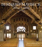 Bernard Maybeck PDF