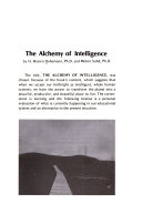 The Alchemy of Intelligence