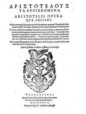 Opera Quae Exstant: Varia Opuscula, Τόμος 2