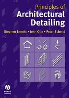 Principles of Architectural Detailing PDF