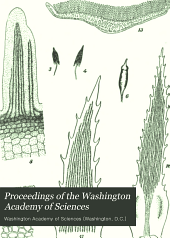 Proceedings of the Washington Academy of Sciences: Volumes 12-13