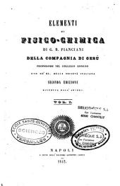 Elementi di fisico-chimica: Volume 1