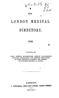 The London Medical Directory