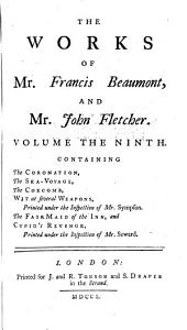 The Works of Francis Beaumont and John Fletcher: Volume 7