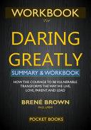 WORKBOOK for Daring Greatly