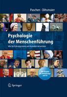 Psychologie der Menschenf  hrung PDF