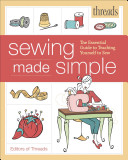 Threads Sewing Made Simple Book
