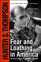 Fear and Loathing in America PDF
