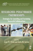 Researcher Policymaker Partnerships PDF