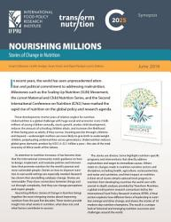 Nourishing millions  Stories of change in nutrition  Synopsis PDF
