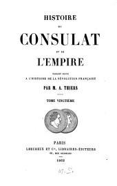 Histoire du consulat et de l'empire: Volume20