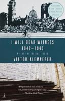 I Will Bear Witness  Volume 2 PDF
