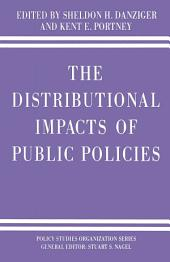 The Distributional Impacts of Public Policies