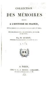 Collection des mémoires relatifs à l'histoire de France depuis la fondation de la monarchie française jusqu'au 13e siècle: Avec une introduction, des supplémens, des notices et des notes, Volume1
