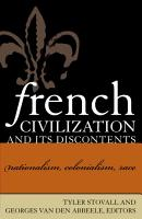 French Civilization and Its Discontents PDF
