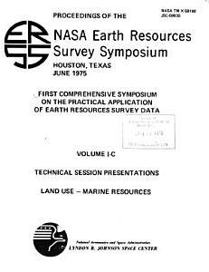 First Comprehensive Symposium on the Practical Application of Earth Resources Survey Data PDF