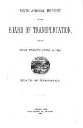 Annual Report: Volume 6