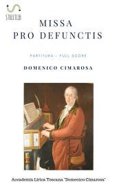 Missa pro defunctis (Partitura - Full Score)