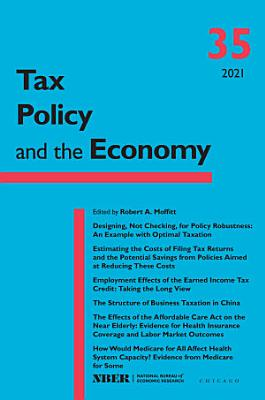 Tax Policy and the Economy  Volume 35