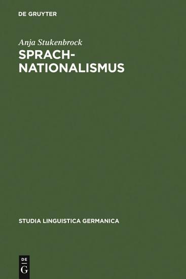 Sprachnationalismus PDF