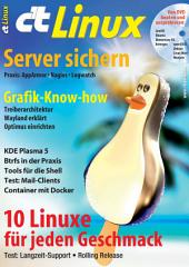 c't Linux 2015: Server-Sicherheit, Distributionen mit Langzeit-Support