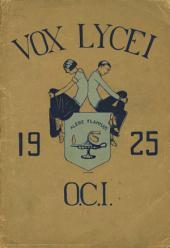 Vox Lycei 1924-1925