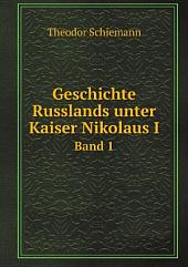 Geschichte Russlands unter Kaiser Nikolaus I