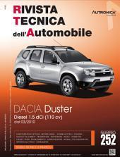 Manuale di riparazione Dacia Duster: 1.5dCi 110 cv - RTA252