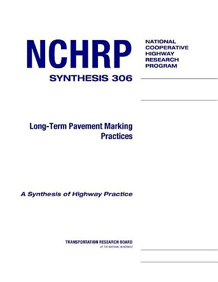 Long term Pavement Marking Practices PDF
