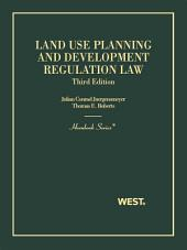 Land Use Planning and Development Regulation Law 3d (Hornbook Series): Edition 3