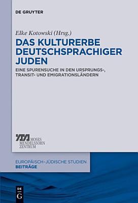 Das Kulturerbe deutschsprachiger Juden PDF