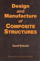 Design and Manufacture of Composite Structures PDF