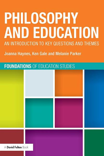 Philosophy and Education PDF