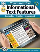 Understanding Informational Text Features  Grades 6   8 PDF