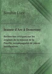 Jeanne d'Arc ? Domremy