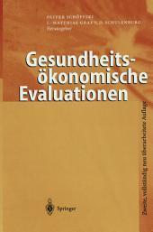 Gesundheitsökonomische Evaluationen: Ausgabe 2