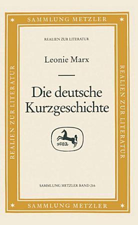 Die deutsche Kurzgeschichte PDF