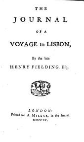 The Journal of a Voyage to Lisbon,
