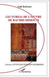 Lecture(s) de l'oeuvre de Rachid Mimouni