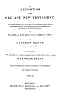Exposition of the Old and New Testament