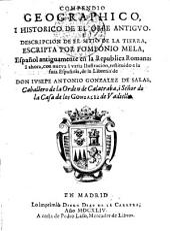 Compendio geográfico i histórico del orbe antiguo i descripción del sitio de la tierra