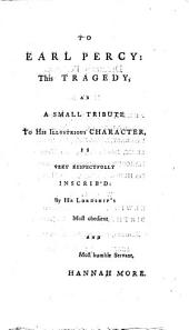 Percy: A Tragedy. As it is Acted at the Theatre-Royal in Covent-Garden