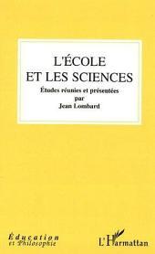 L'école et les sciences