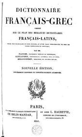 Dictionnaire français-grec ...
