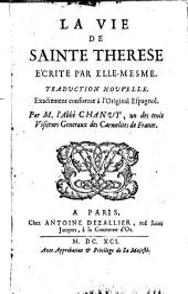 La vie de Sainte Therese e'crite par elle-mesme