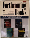 Forthcoming Books PDF